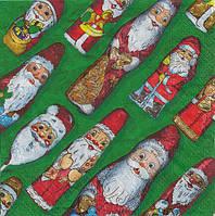 "Салфетка для декупажа ""Конфета Дед Мороз"""