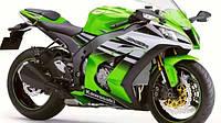 Новый Kawasaki Ninja ZX-10R - прорыв зеленой лягушки