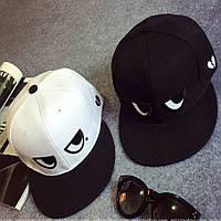 Кепка снепбек Глаза с прямым козырьком 2, Унисекс, фото 1