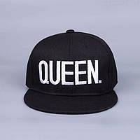 Кепка снепбек Queen (Королева) с прямым козырьком 2, фото 1