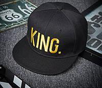 Кепка снепбек King 2 (Король) с прямым козырьком 2, фото 1