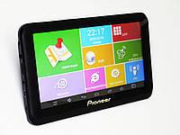 """Автомобильный 7"""" GPS планшет - навигатор - видеорегистратор Pioneer A7002S + GPS+ 4Ядра+ 512MbRam+ 8Gb"""