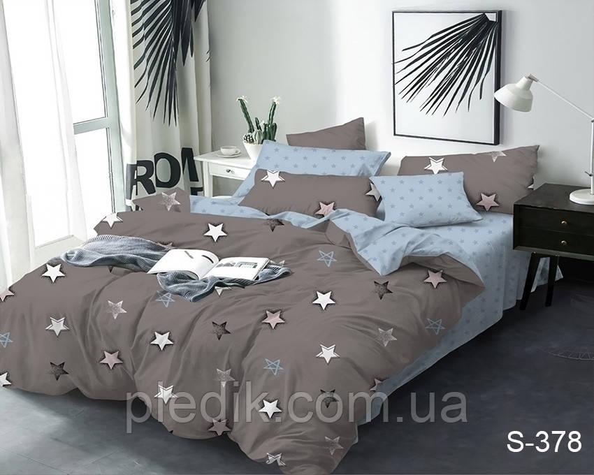 Комплект постельного белья сатин 200х220 TAG S378