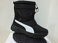 Зимняя обувь, зимние дутики с мехом, зимові дутіки з хутром Puma размер 38, 39, 40, 41