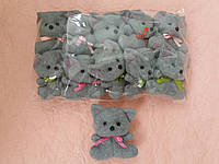 Котик серый  с фетра комплект 10 шт