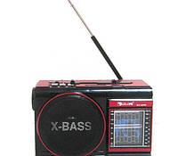 Радиоприемник колонка MP3 Golon RX-9009 Red LED фонарик USB CardReader радио Встроенный аккумулятор+КАРАОКЕ