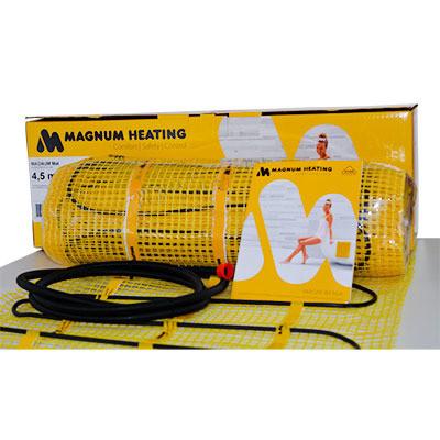 Теплый пол MAGNUM Mat 9,0 m²тонкий нагревательный мат под плитку
