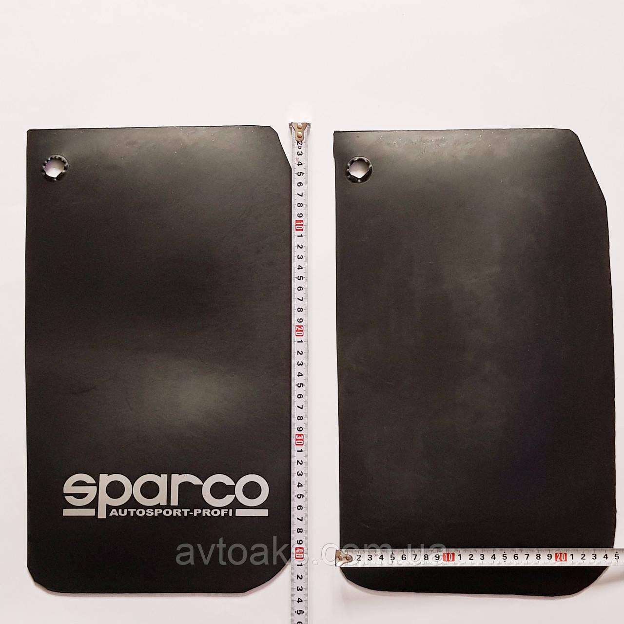 Брызговики Sparco 430х245мм.