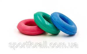 Эспандер кистевой Кольцо Цветной  UR  резина, d-3,5x8см, нагрузка 20кг FI-3546