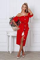 Платье повседневнный женское Sofia «Croisette» 215 Красный