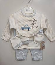 Костюм на новонародженого хлопчика р 56 арт 30056 Туреччина.