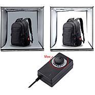 24x23x22см Фотобокс с подсветкой Puluz PU5023 LED , фото 7