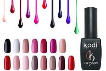 Гель-лаки для ногтей Kodi, базовые и топовые покрытия