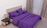 Двуспальный комплект. постельное белье однотонное среневое  , постельное бязь
