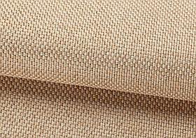 Ткань для штор Рогожка бежевая солнцезащитная, затемняющая, Турция