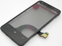 Сенсор Nokia 620 Lumia тачскрин + рамка, фото 1