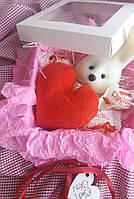 Подарочный набор №7 с мишкой и конфетами