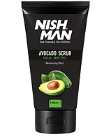 Мужской скраб для лица Nishman Natural Avocado Face Scrub
