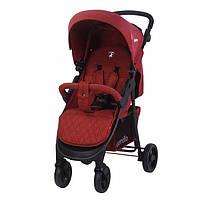 Детская прогулочная коляска CARRELLO Quattro CRL-8502 Красный +дождевик (CRL-8502 Fiesta)