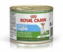 Консерви Royal Canin Adult Light для собак з надмірною вагою 195 г