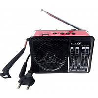 """Радиоприемник колонка """"NEEKA"""" NK-202USB Работает от аккумулятора FM/TV/MW/SW1-2 Аудио выход Музыка с собой"""