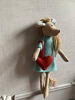 Мышка игрушка  подарок  для  девочки