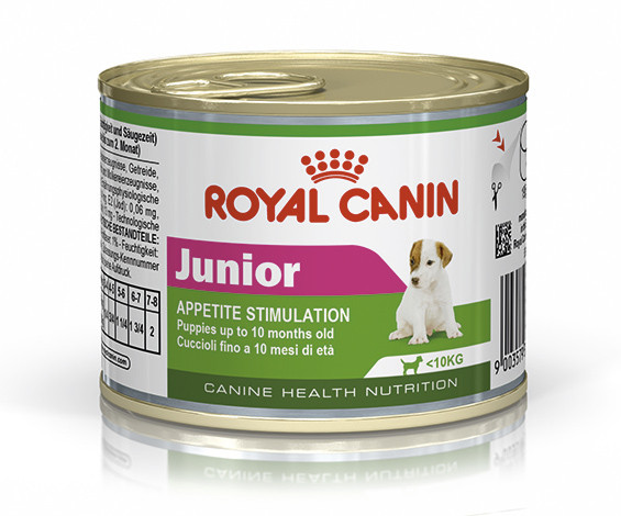 Консерви Royal Canin Junior для цуценят малих порід 195 г