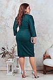 Красивое женское платье, идеально сидит по фигуре.50-56р.(4расцв), фото 7