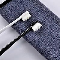 Экологичная ультра тонкая мягкая зубная щетка 2шт/уп