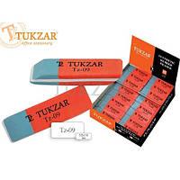 Ластик двухсторонний красно-синий Tukzar TZ 09