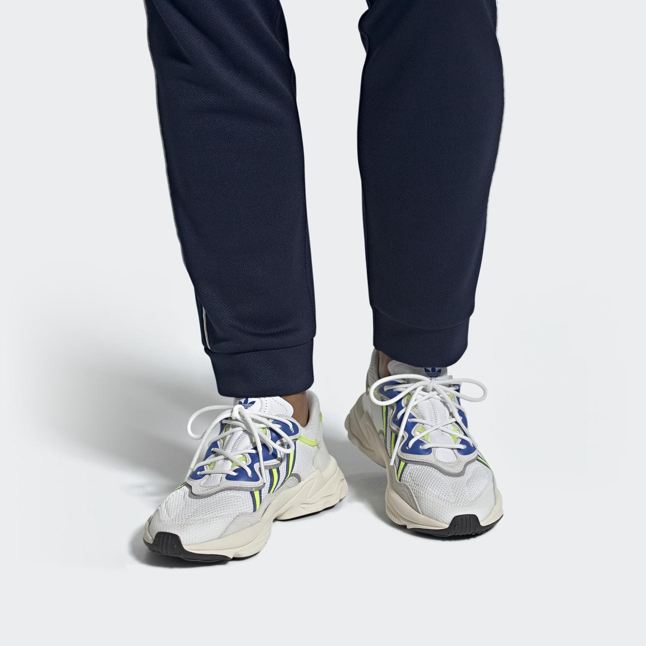 Adidas OZWEEGO EE7009 Оригинальные белые мужские кроссовки