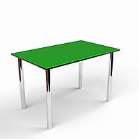 Обеденный стол ДСП+стекло
