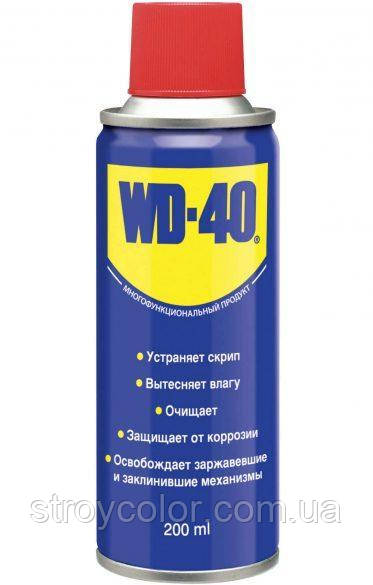 Універсальна змазка-спрей WD-40 200 мл (Аерозоль ВД-40 Оригінал)