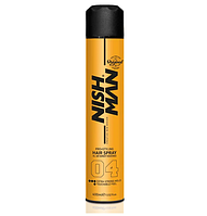 Спрей для фиксации волос Nishman Extra Strong #04 (Очень Сильная Фиксация) 400 Мл