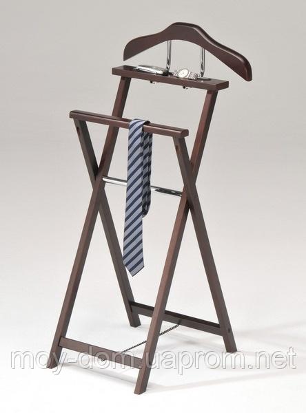 Вешалка раскладная деревянная W03