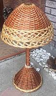 Торшер плетеный из лозы | абажур напольный | плетеная люстра из лозы