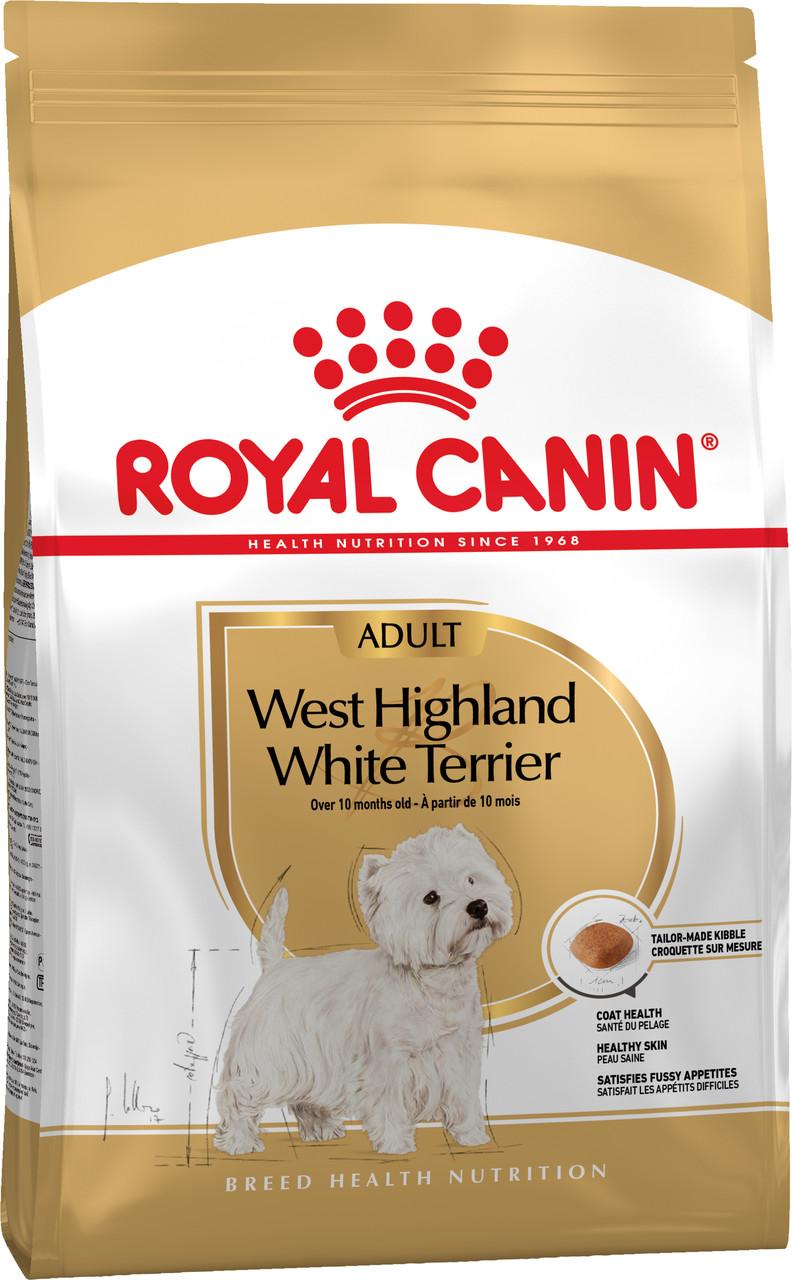 Сухой корм Royal Canin West Highland White Terrier для собак породы Вест хайленд уайт терьер 500 г
