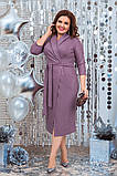 Красиве жіноче плаття гарно підкреслює фігуру от48 до54р (3расцв), фото 2