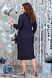 Красиве жіноче плаття гарно підкреслює фігуру от48 до54р (3расцв), фото 3
