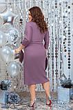 Красиве жіноче плаття гарно підкреслює фігуру от48 до54р (3расцв), фото 6