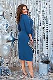 Красиве жіноче плаття гарно підкреслює фігуру от48 до54р (3расцв), фото 8