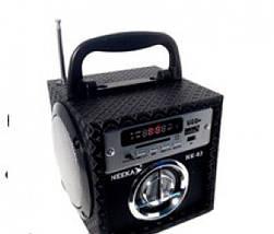 Портативная колонка Neeka NK-85. Светодиодный дисплей. Встроенный аккумулятор, фото 3
