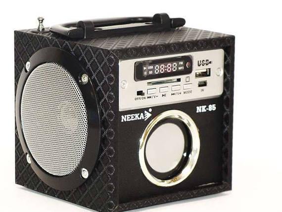Портативная колонка Neeka NK-85. Светодиодный дисплей. Встроенный аккумулятор, фото 2