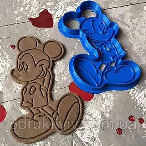 Вирубка зі штампом Міккі Маус / Вырубка - формочка со штампом Микки Маус