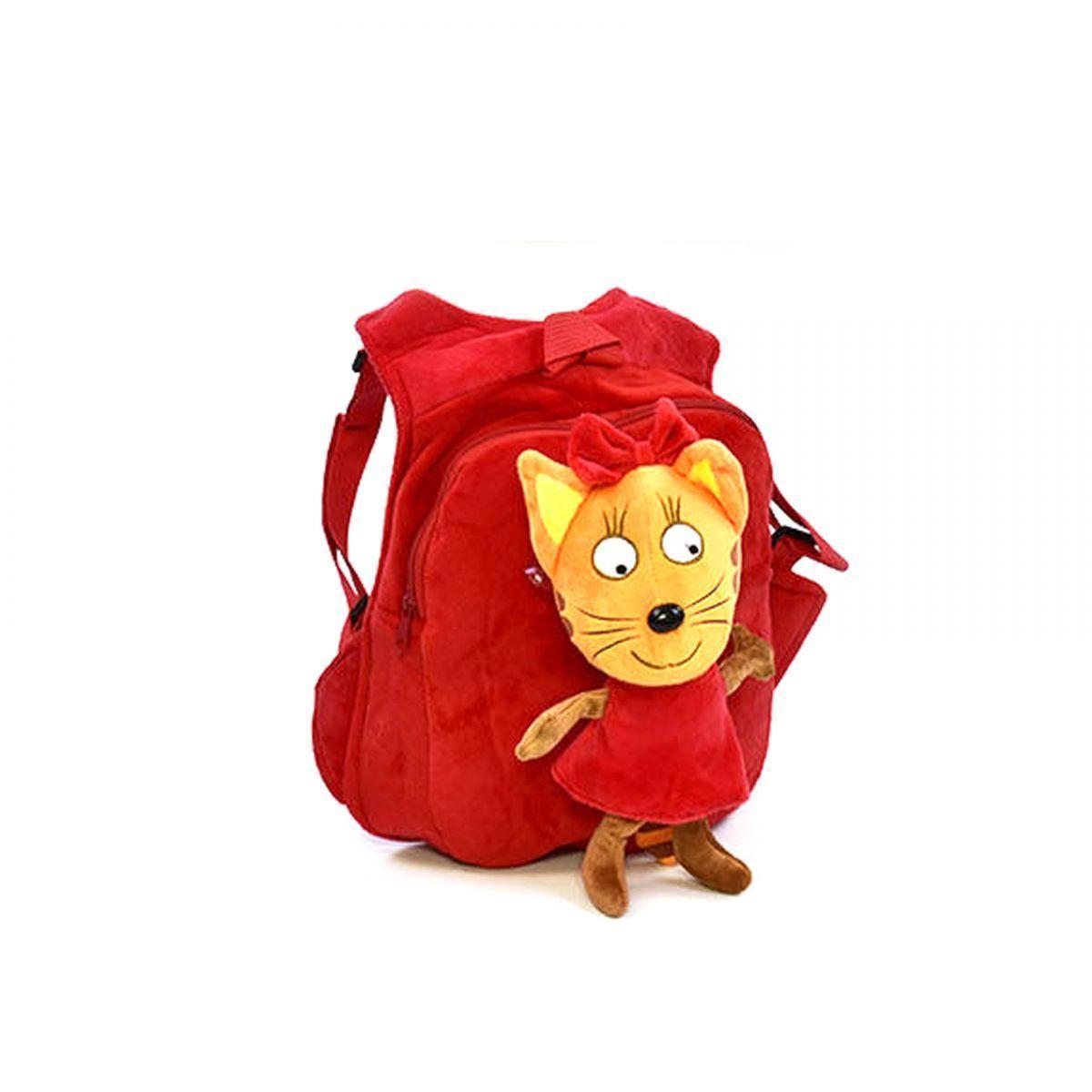 Мягкий рюкзак Три кота: Карамелька