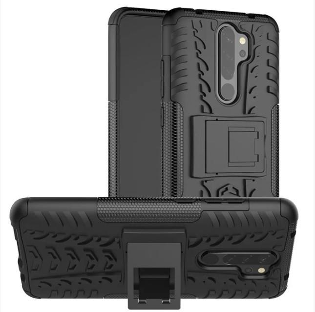 Чехол Armor для Xiaomi Redmi Note 8 Pro Противоударный Черный