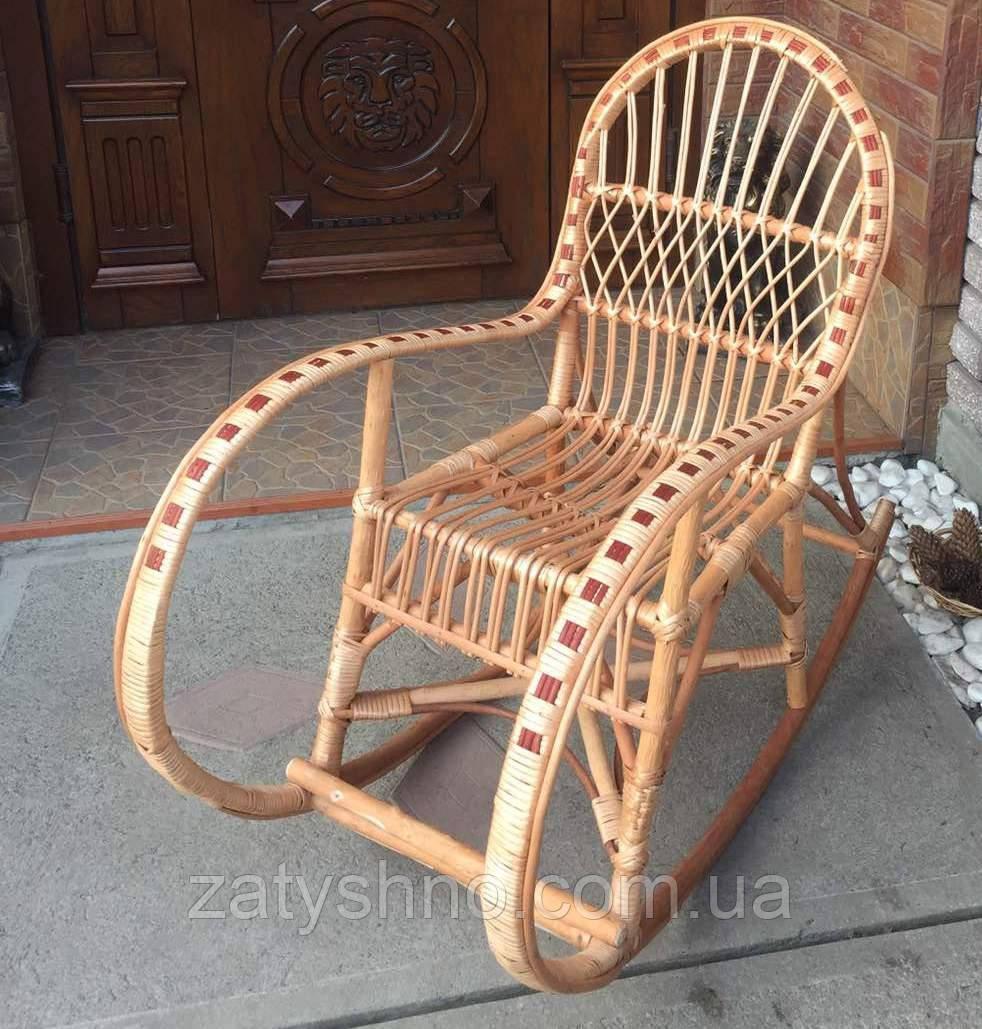 Кресло качалка из лозы подросткавая  | Кресло-качалка  подростковая | кресло качалка дачная