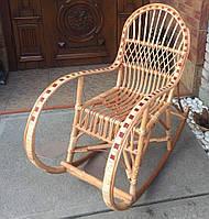 Кресло качалка из лозы подросткавая  | Кресло-качалка  подростковая | кресло качалка дачная, фото 1