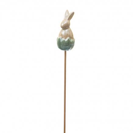 Топпер Кролик зеленый 25см./6,5 см, фото 2