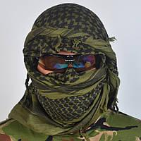 Тактическая арафатка (платок) зеленого цвета